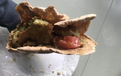 Pita Pockets with Falafel