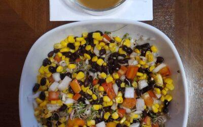 Bumblebee Salad / Ensalada de Abejita (Abejorro)