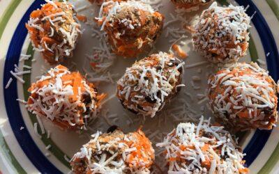 Carrot Bliss Balls