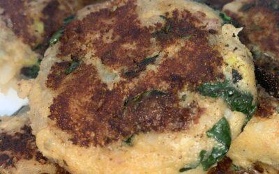Potato Kale Cakes