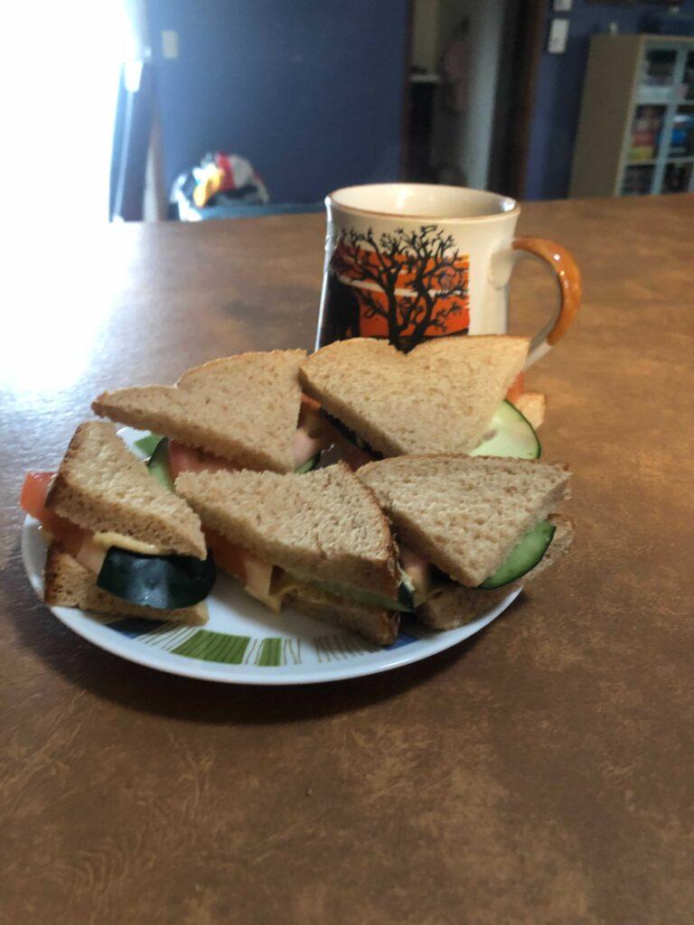 Tea-time sandwiches
