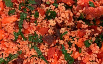 Rainbow Rice / Arroz Arcoiris