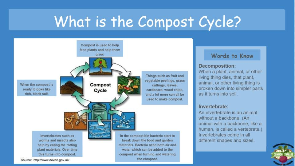 Interactive Compost Curriculum (3rd – 5th)