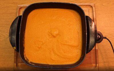 Carrot Ginger Soup / Sopa de Zanahoria y Jengibre