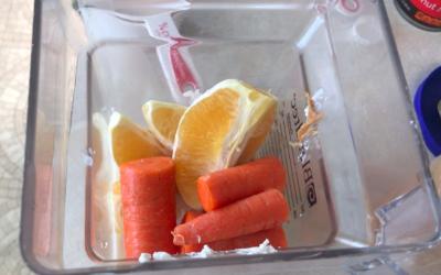 Orange Smoothie / Licuado de Naranja