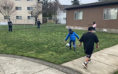 Connecting with Kids through Kicks