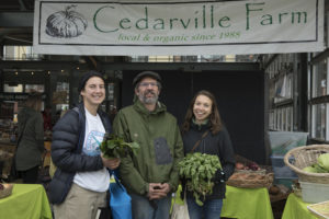 Cedarville Farm with Common Threads Americorps Service Members