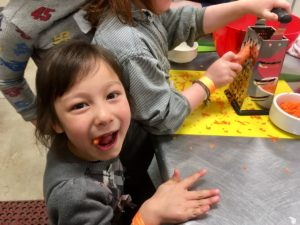 Kids Dayz joyful student chefs